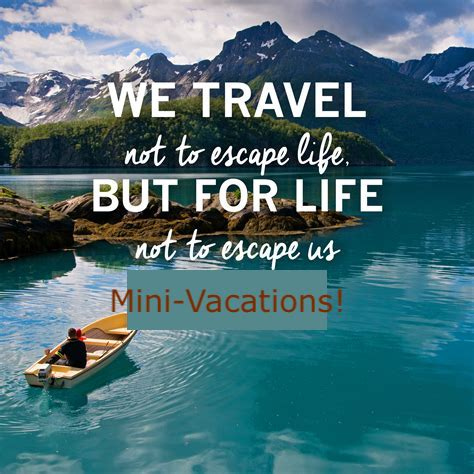 Mini-vacations are better than long holidays